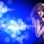 Beautiful dancing girl — Stock Photo #8568680