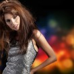 Beautiful dancing girl — Stock Photo #8568861