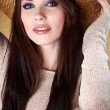 Sexy woman with cowboy hat — Stock Photo #8764202