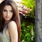 Beautiful and sensuality brunette woman — Stock Photo #9112560