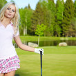 Royalty-Free Stock Photo: Womans golf