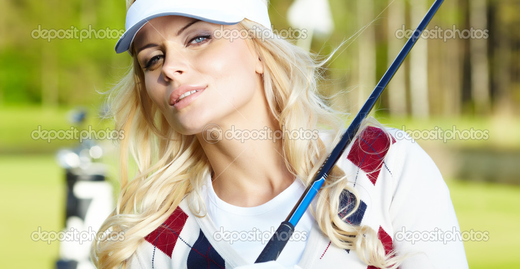 Womans golf — Stock Photo #9239051