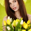 Spring woman — Stock Photo #9603171