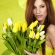 Spring woman — Stock Photo #9603246