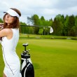 Womans Golf — Stock Photo #9815021