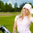 Womans Golf — Stock Photo #9862590