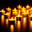 Many burning candles — Stock Photo #10030320