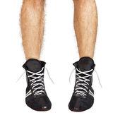 Boxing shoes — Стоковое фото