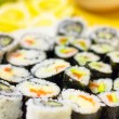 Stock Photo: Sushi with small depth of field