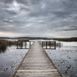 Lake pier - Stock Photo