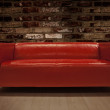 Red Sofa — Stock Photo #9261275
