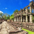 Ancient buddhist khmer temple in Angkor Wat complex - Foto de Stock