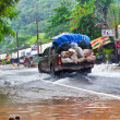 Flooding in Thailand — Stock Photo