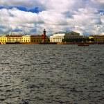 View on tne Neva river — Stock Photo
