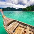 Boat in the tropical sea. — Stok fotoğraf