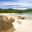 Exotic tropical beach. Thailand — Stock Photo