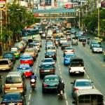 Bangkok traffic — Stock Photo