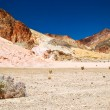 Stock Photo: Lifeless landscape of the Death Valley