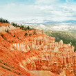 View from viewpoint of Bryce Canyon. Utah. USA — Stockfoto