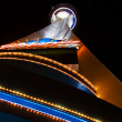 Stock Photo: Night lights of Stratosphere Tower