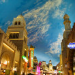 Miracle Mile Shops in the Aladdin hotel stylized as Arab town — Stock Photo