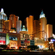 Stock Photo: New York, New York Hotel & Casino at night
