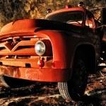 Antique Firetruck — Stock Photo #8304544