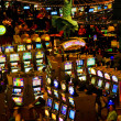Game halls of New York Hotel & Casino - Stok fotoğraf