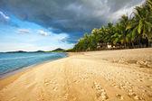 Exotickou tropickou pláž. — Stock fotografie