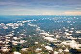 Aerial view of farmland — Stock Photo