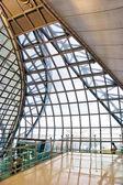 Futuristico interno dell'aeroporto di suvarnabhumi — Foto Stock