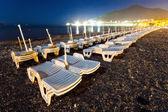 Kväll på stranden — Stockfoto