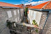Old Budva town. — Stock Photo