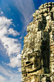 Smiling face of Bayon. Angkor. — 图库照片
