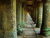 An old stone columns — Stock Photo