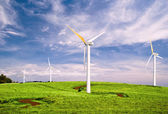 Windmills with Blue Sky — Stock Photo