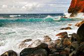 Okyanusun üzerinde göster — Stok fotoğraf