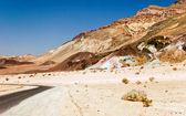 Sin vida paisaje del valle de la muerte — Foto de Stock