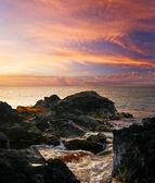 Big island günbatımı. hawaii — Stok fotoğraf