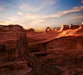 En arches canyon — Photo
