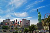 The Excalibur Hotel & Casino is shown in this image taken at day — Stock Photo