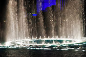 Musical fountains — Stock Photo