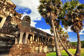 Ancient buddhist khmer temple in Angkor Wat complex — Stockfoto