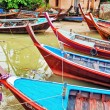 Traditional Thai boats — Stock Photo