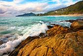 Exotickou tropickou pláž — Stock fotografie