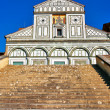 San Miniato al Monte in Florence — Stock Photo #9191120