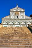 San miniato al monte στην φλωρεντία — Φωτογραφία Αρχείου