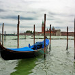 Boat in Venice - Stock Photo