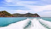 在热带海 — 图库照片