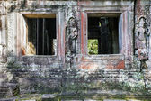 Old wall of Angkor Wat — Foto Stock